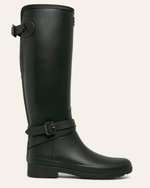 Černé boty Hunter