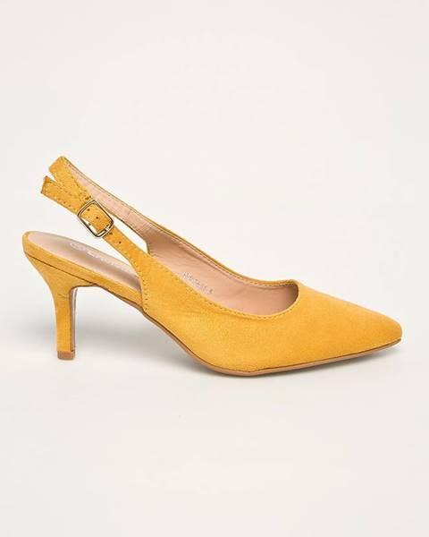 Žluté boty ANSWEAR