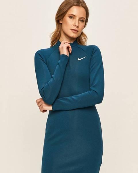 Tyrkysové šaty Nike Sportswear