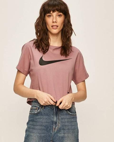 Růžový top Nike Sportswear