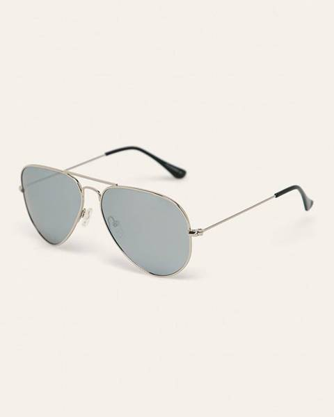 Šedé brýle ANSWEAR