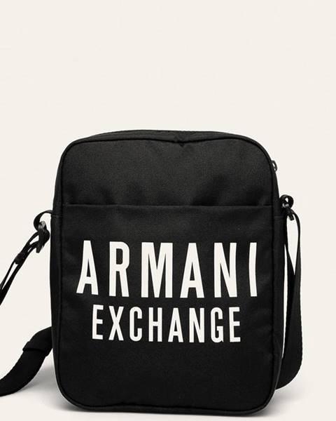 Černá ledvinka Armani Exchange