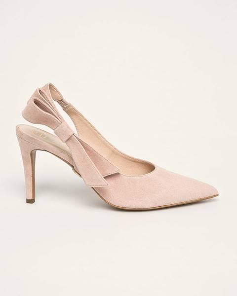 Béžové boty Baldowski