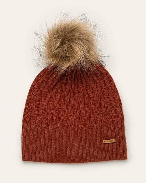 Oranžová čepice Barts