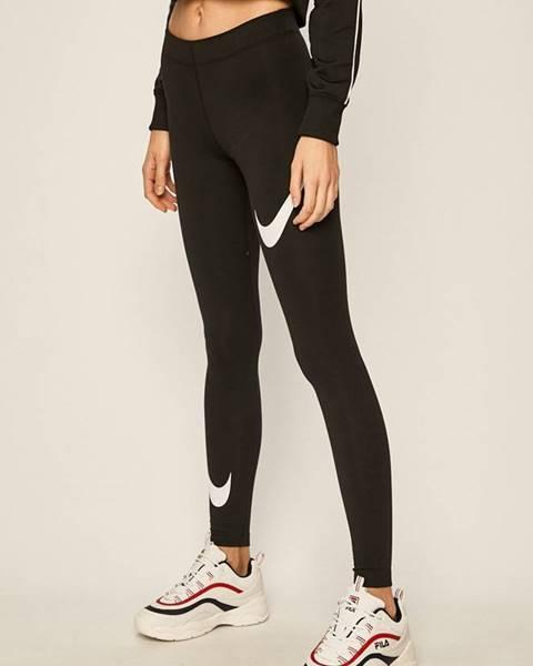 Černé kalhoty Nike Sportswear