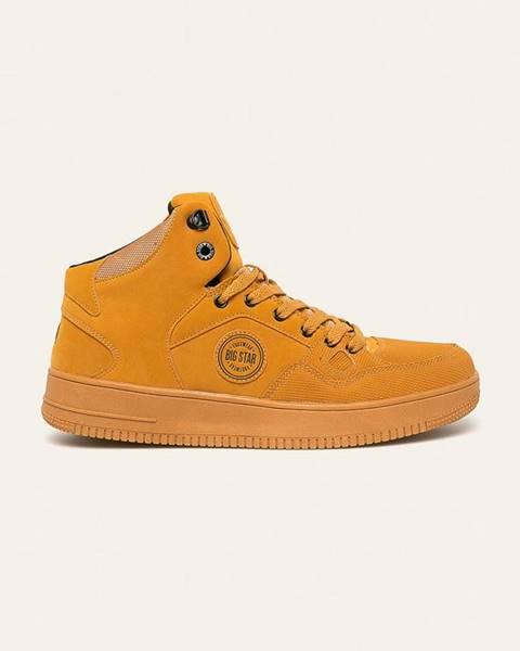 Béžové boty Big Star
