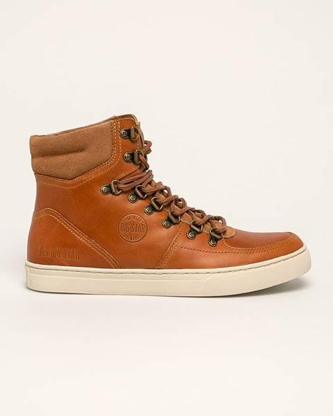 Hnědé boty Big Star