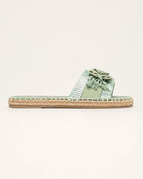 Zelené boty Big Star