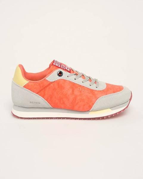 Oranžové boty Big Star