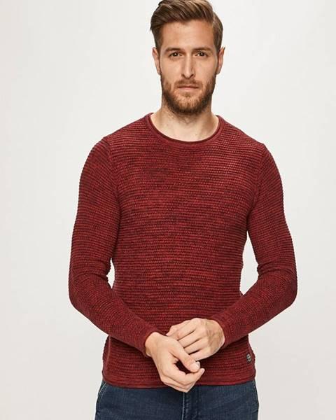 Fialový svetr blend