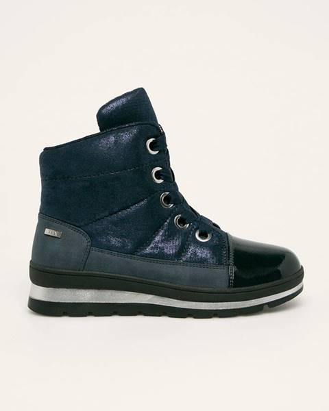 Modré boty Caprice