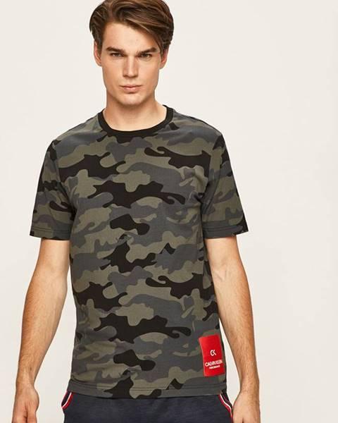 Černé tričko Calvin Klein Performance