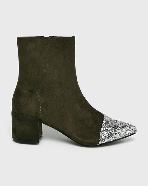 Zelené boty Corina