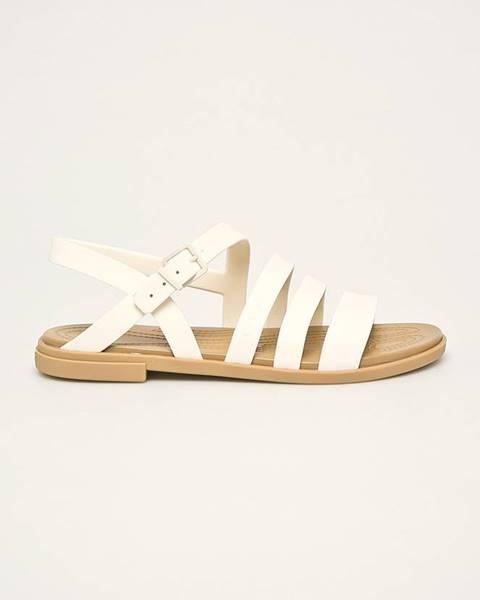 Bílé boty crocs