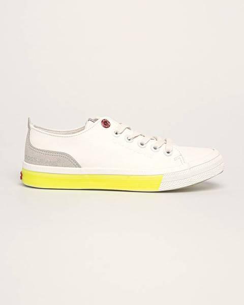 Bílé boty cross jeans