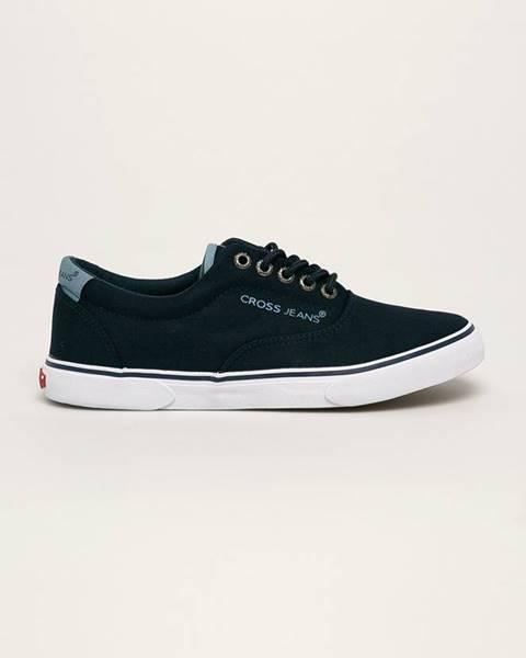 Modré boty cross jeans