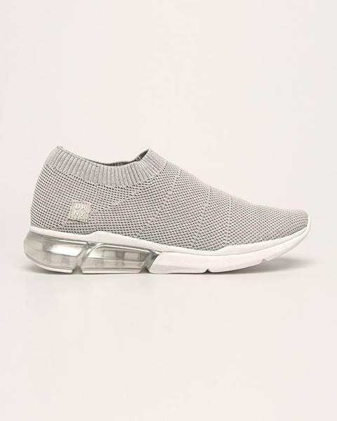 Stříbrné boty dkny