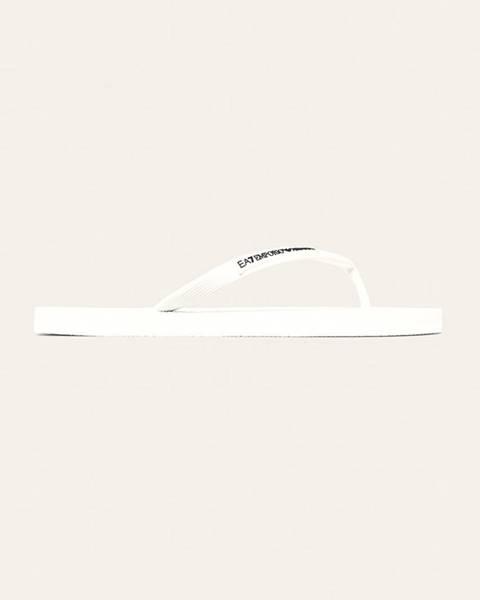 Bílé boty EA7 Emporio Armani