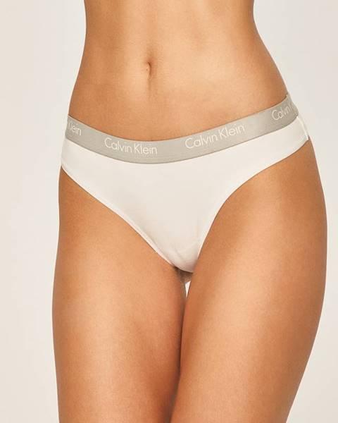Bílé spodní prádlo calvin klein underwear