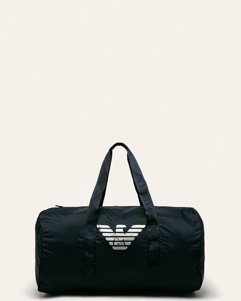 Modrá taška Emporio Armani