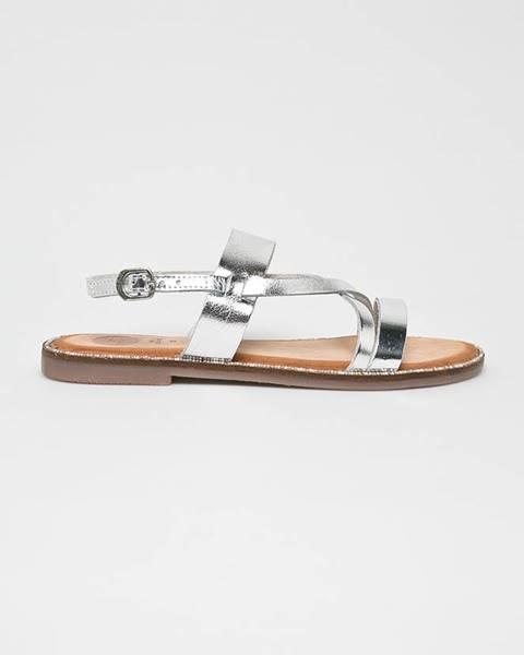 Stříbrné boty Gioseppo