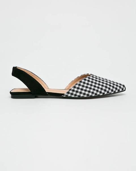 Černé boty Glamorous
