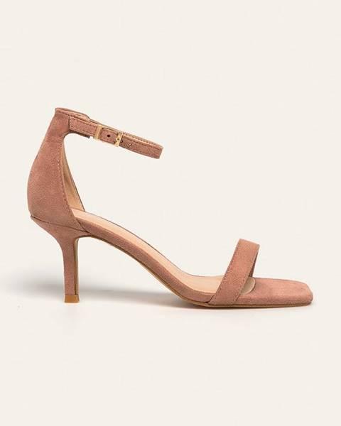 Růžové boty Glamorous