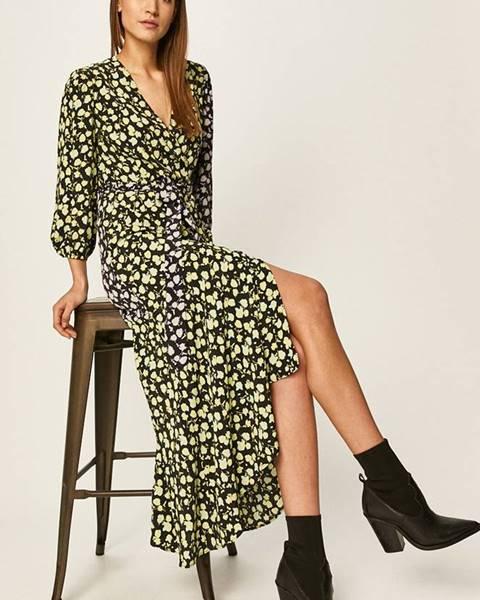 Zelené šaty Glamorous