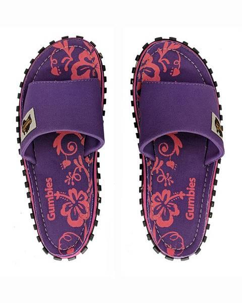 Fialové boty Gumbies