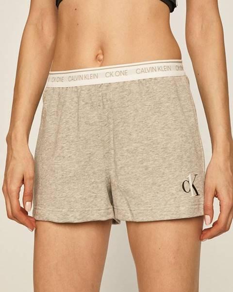 Šedé spodní prádlo calvin klein underwear