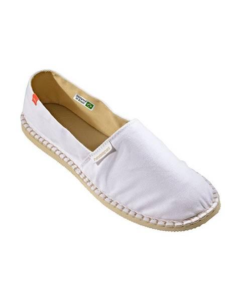 Bílé boty havaianas