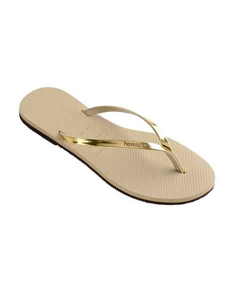 Zlaté boty havaianas