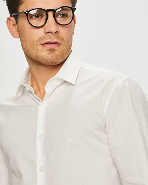 Bílá košile Calvin Klein
