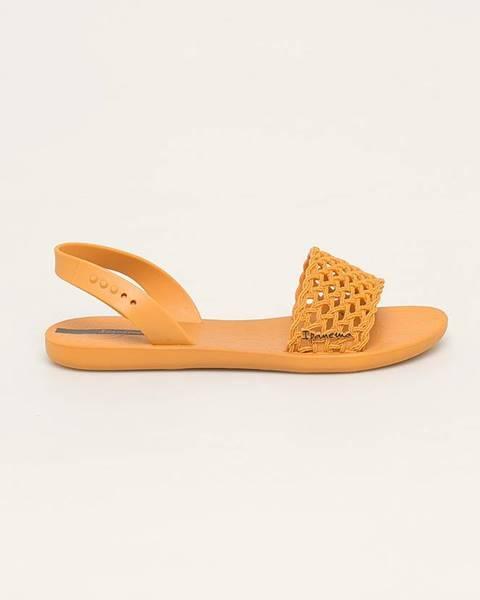 Oranžové boty ipanema