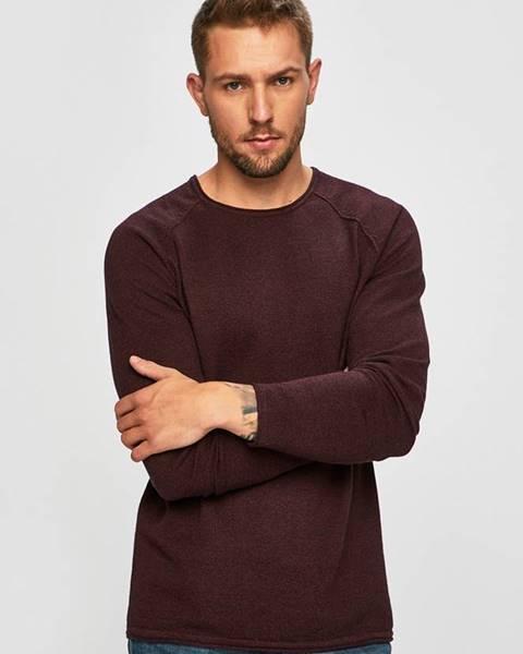 Fialový svetr jack & jones