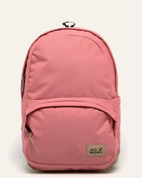 Růžový batoh Jack Wolfskin