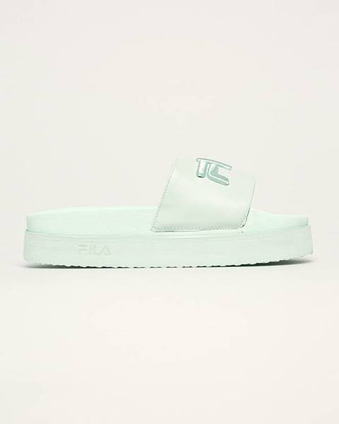 Zelené boty fila