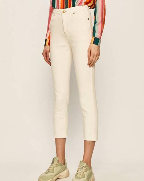 Bílé kalhoty pepe jeans