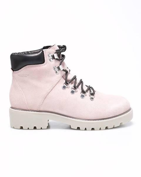 Bílé boty vagabond