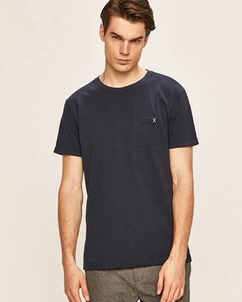 Modré tričko Clean Cut Copenhagen