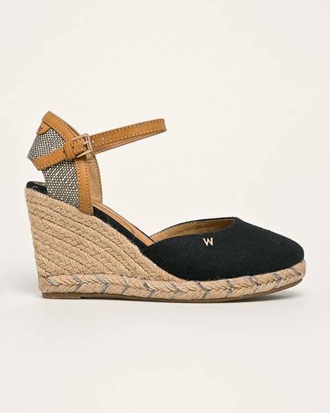 Černé boty wrangler