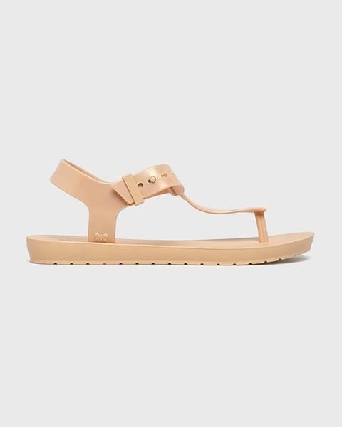 Béžové boty zaxy