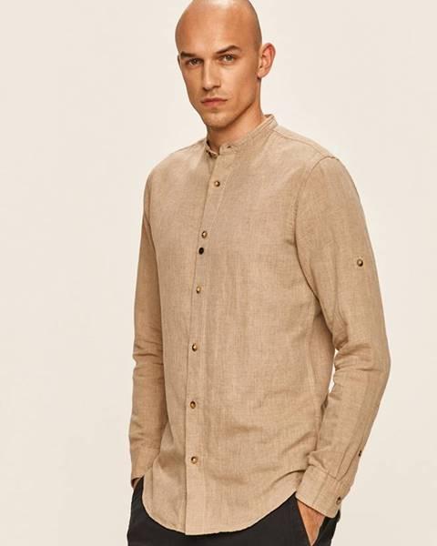 Béžová košile jack & jones