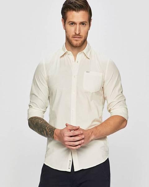 Bílá košile pepe jeans
