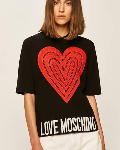 Topy, trička, tílka Love Moschino