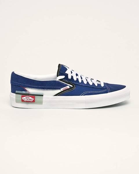 Modré boty vans