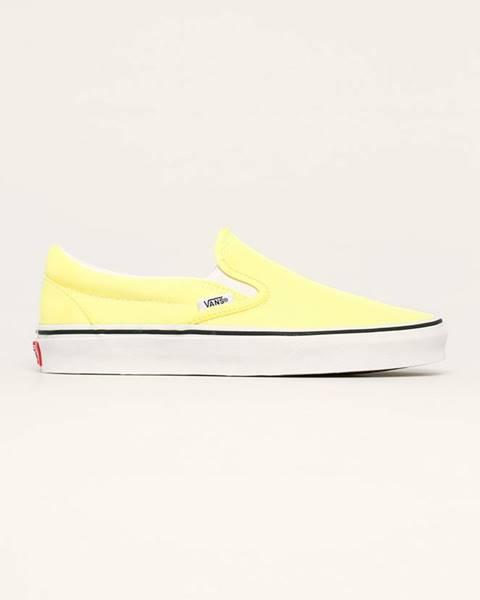 Žluté boty vans