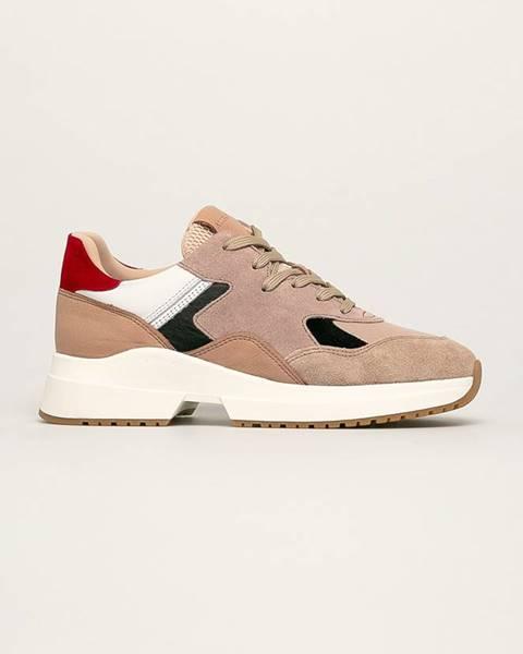 Béžové boty AllSaints