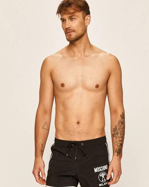 Černé plavky Moschino Underwear