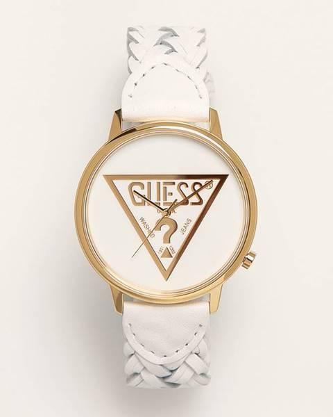 Bílé hodinky Guess Jeans